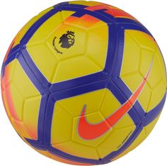 2b98918f8a Nike Premier League Hi-Vis Strike Soccer Ball. FutebolEquipamento De  FutebolBola ...