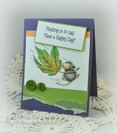 by Rain Puddles Design with House-Mouse Designs® available through Stampendous using Fall Float and digi sentiment