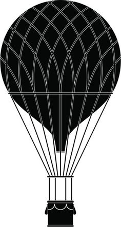 Vintage Hot Air Balloon Vector Art 165728471