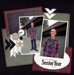 1st Day of Senior Year - Scrapbook.com