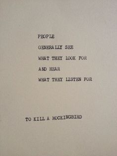 andallshallbewell:   To kill a mockingbird - Fresh Farmhouse
