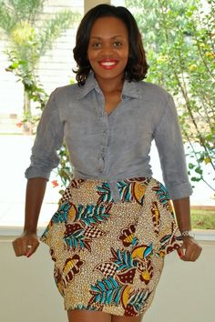 Diane Opoti, 100 days of African Fashion