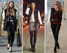 ZARA is the new black: Las chaquetas beisboleras de estilo universitario