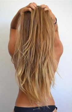 long blonde hair. hot stuff