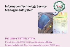 Information technology service management system, URS offers ISO 20000 Certification