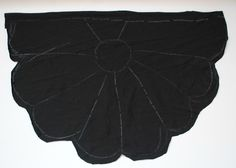 Trash To Couture: DIY: Black Widow Wings Top