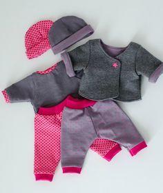 Vêtements poupon 36 cm ou taille Naissance pour son bébé Couture De  Vêtements De Poupée, ab5843cdca8