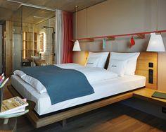 Творческий отель в Цюрихе