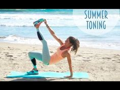 7 Minute Summer Toning Routine!! - YouTube