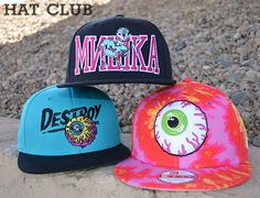 0e0289a32b1 Mishka Spring 2014 Headwear Collection   HAT CLUB. Ohsnapbacks.com · Snapback  Caps