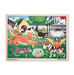 Melissa & Doug® 24 Piece Pets Jigsaw Puzzle