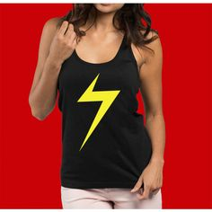 0278c547408e8 Ms Marvel Shirt Ms Marvel Tank Top Ms Marvel Cosplay (28 CAD) ❤ liked