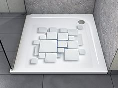 anti rutsch aufkleber 3d loch gl hend quadratisch antibakteriell selbstklebend leicht zu. Black Bedroom Furniture Sets. Home Design Ideas