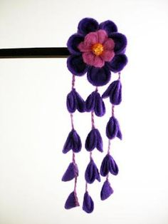 DIY Kanzashi Flower DIY Flowers DIY Crafts