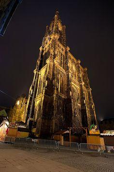 """Notre Dame de Strasbourg (aka """"Le Doigt de Dieu) #Cathedrals #NotreDame #Strasbourt #France"""