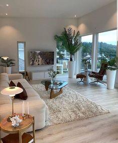 Apartment Interior, Living Room Interior, Home Living Room, Living Room Decor, Home Room Design, Dream Home Design, Home Interior Design, House Design, Dream House Interior