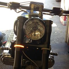 Motorcycle Snap-On LED Turn Signals