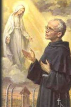 """""""The Immaculate alone has from God the promise of victory over Satan. She seeks souls that will consecrate themselves entirely to her, that will become in her hands forceful instruments for the defeat of Satan and the spread of God's kingdom."""" --St. Maximilian Kolbe"""