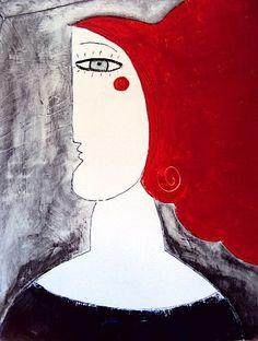 "Philippe Lareau-Vaillancourt  ""Red hair"" (private collection, Alberta) www.philippelareauvaillancourt.com"