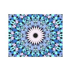Decorate your walls with Mandala canvas prints from Zazzle! Choose from thousands of great wrapped canvas to beautify your home or office. Mandala Art, Mandala Canvas, Mandala Pattern, Garden Stones, Watercolor And Ink, Background Patterns, Canvas Art Prints, Wall Tapestry, Wall Art