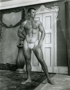 Richard Reagan by Bob Mizer of Athletic Model Guild Vintage Men, Vintage Black, Athletic Models, Pin Up, Athletic Supporter, Classic Image, Best Abs, Photo B, Male Photography
