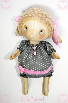 Julia Moiseenko HANDMADE: маленькая овечка