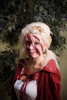 Little Dead Riding Hood | Halloween makeup, Hoods and Makeup