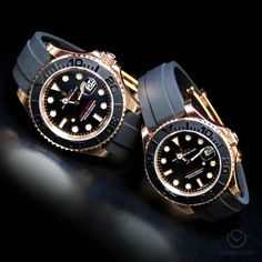 His and Hers Yacht-Master 18k RG & Ceramic [cilck our bio pic for more ]