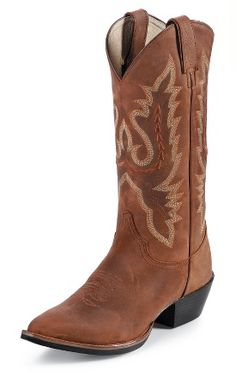 Coffee Westerner Cowboy Boots from Justin Boots Cowboy Up, Cowboy Boots Women, Cowgirl Boots, Riding Boots, Western Boots, Country Girl Style, Country Girls, My Style, Western Style
