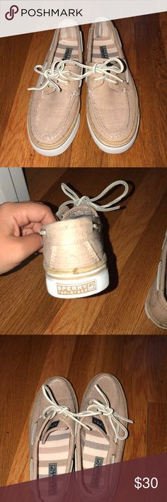 BRAND NEW sperry Blush canvas Sperry Top-Sider Shoes