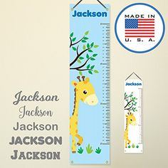 Gray Track Your Baby/'s Growth 79 x 7.9in Nictrue Kids Height Measurement Ruler,Canvas Growth Chart Height Chart Hanging Ruler Wall Decor Ruler