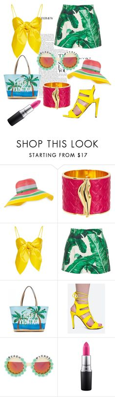 """""""Summer Fever"""" by just-lea on Polyvore featuring Missoni, Diane Von Furstenberg, Dolce&Gabbana, Kate Spade, Delicious, Rad+Refined, MAC Cosmetics, cute, contest and colors"""
