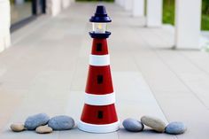How to Make a Clay Pot Lighthouse | eHow