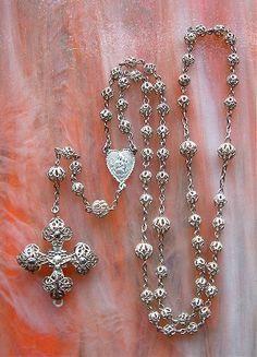 Antique Rosaries | Vintage and Sterling Rosaries 7