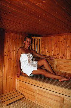 Le sauna du Prieuré