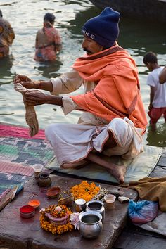 Blessings on the Ganges