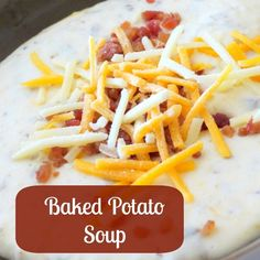 Best potato soup I've made!  I pureed most of it and mashed about 2 c. of the potatoes so it had a bit more texture.  I also omitted the cream cheese. So delicious!   Slow Cooker Baked Potato Soup Recipe