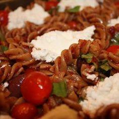 Salad: Italian Gemelli Pasta on BigOven: Light Italian pasta salad from Donna's friend Stacy in Des Moines