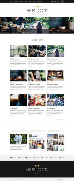 http://flatdsgn.com/inspiration/hemlock-responsive-blog-theme.html