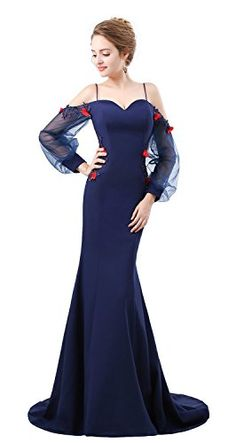 3058875539 Dressylady 2018 Strapless Waist-Beaded Satin Long Prom Homecoming Dress  Evening Gown at Amazon Women s Clothing store