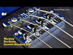 Warwick Corvette Standard Ash - YouTube