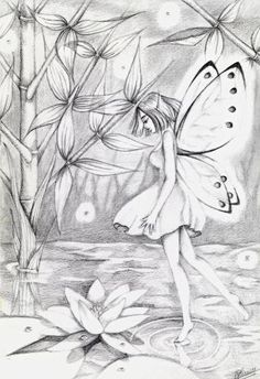 Fairy, drawing