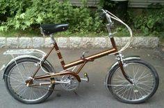 VINTAGE RALEIGH TWENTY FOLDING BICYCLE BIKE 3 SPEED