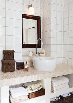 Um #banheiro bonito e econômico!