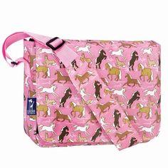 Wildkin Horse In Pink Messenger Bag Bags Box