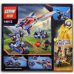 LEGO LEPIN 14012 Nexo Knights Clay's Rumble Blade #tangerang #tokomainan #mainancerdas