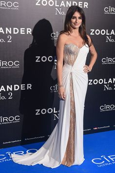 Penélope Cruz en el estreno de Zoolander 2