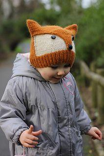 Fox hat pattern - Evan christmas gift