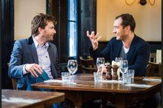David Tennant discusses Hamlet with Jude Law