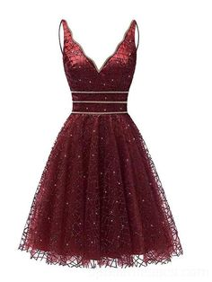 Sexy Backless Dark Red Sequin Homecoming Dresses Online, Cheap Short Prom Dresses, - Sites new Dresses For Teens, Dresses Online, Pretty Dresses, Beautiful Dresses, Cheap Short Prom Dresses, Red Homecoming Dresses, Formal Dresses, Dama Dresses, Junior Dresses